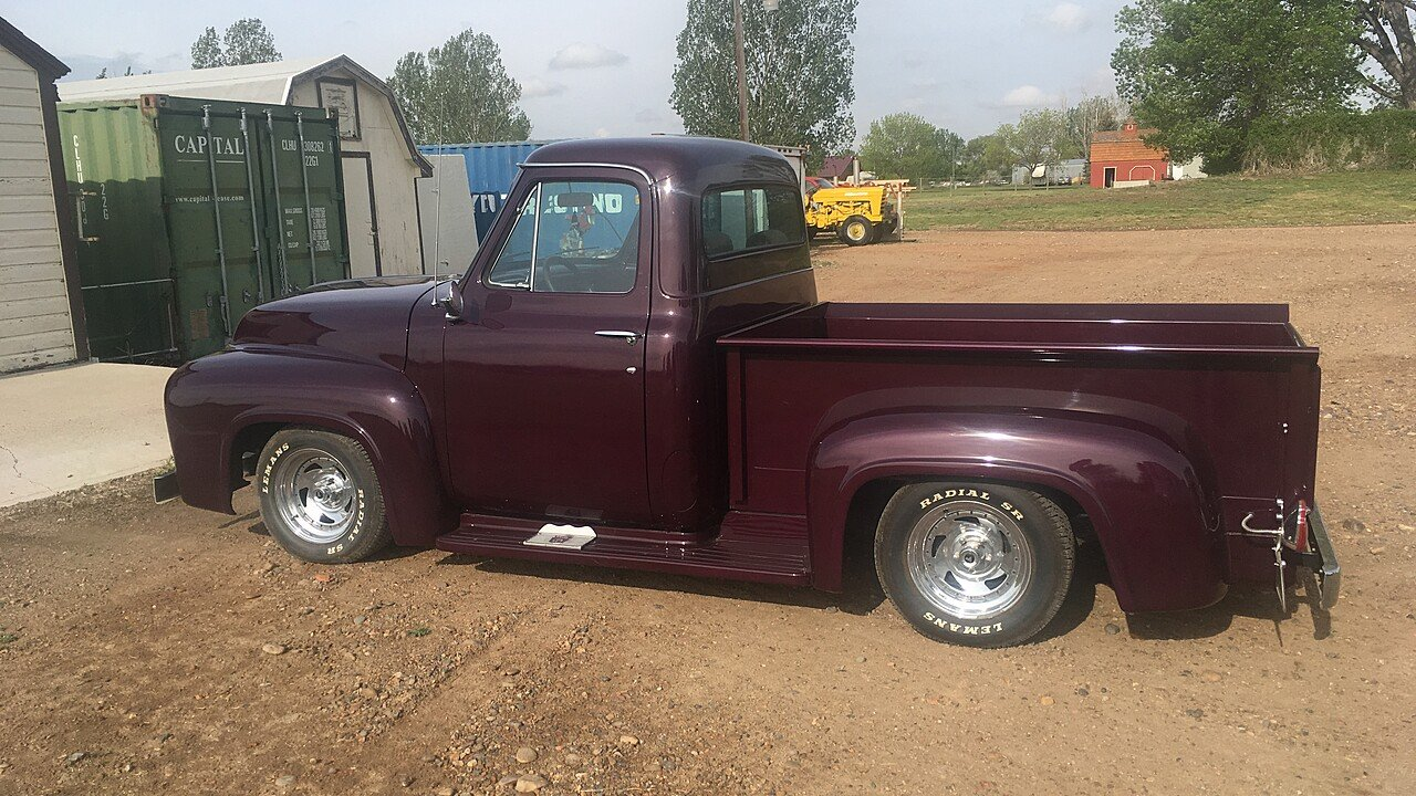 1954 Ford F100 2wd Regular Cab For Sale Near Sidney Montana 59270 Pickup Truck 101029914
