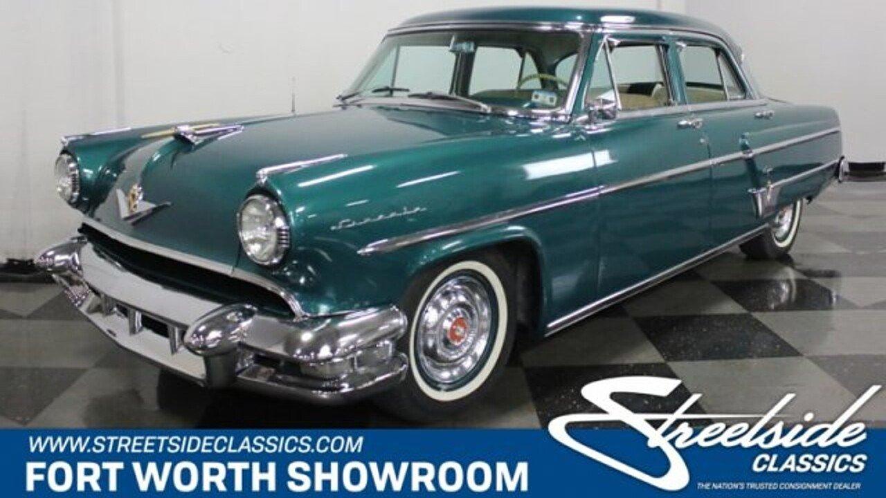 1954 Lincoln Capri for sale near Fort Worth, Texas 76137 - Classics ...