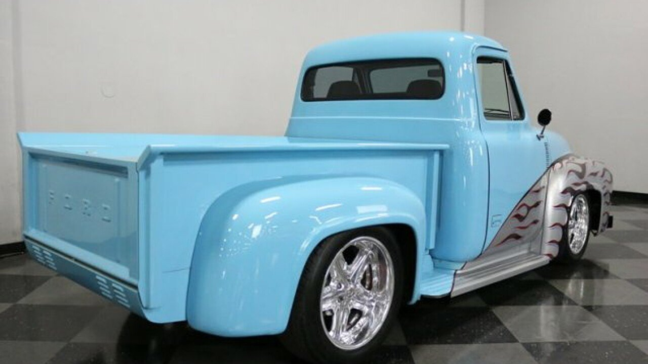1955 Ford F100 For Sale Near Fort Worth Texas 76137 Classics On Running Board 100940270