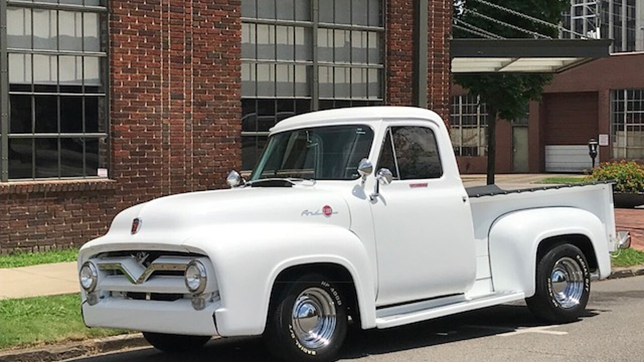 1955 Ford F100 2WD Regular Cab for sale 101004892