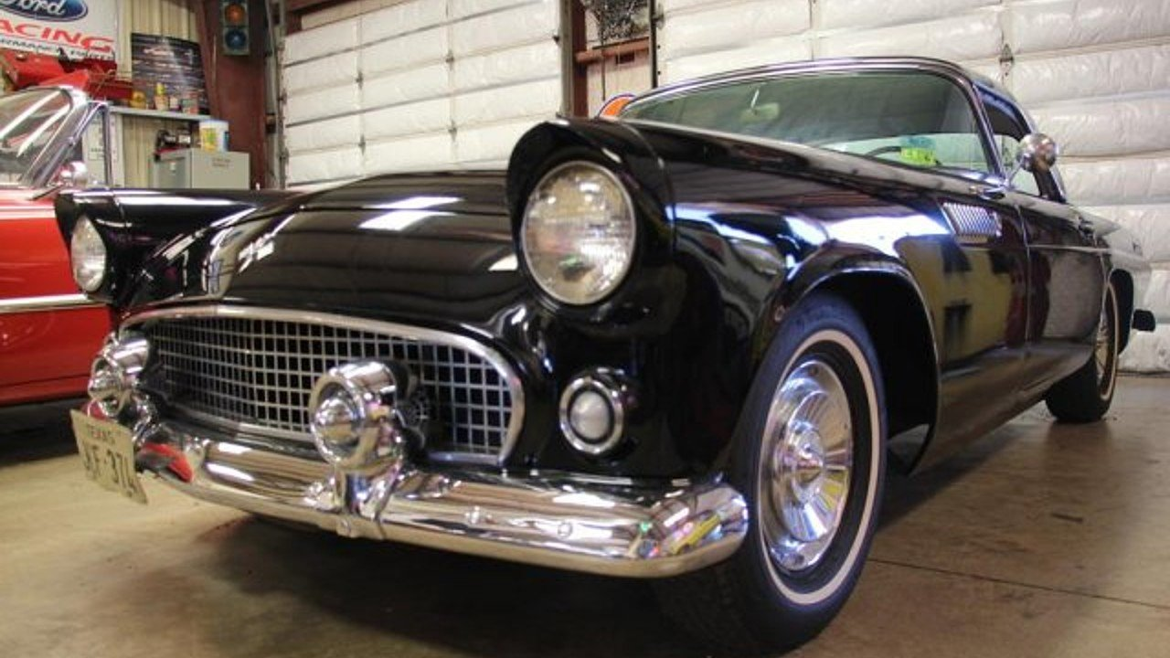 1955 ford thunderbird for sale near terrell texas 75160 classics on autotrader. Black Bedroom Furniture Sets. Home Design Ideas