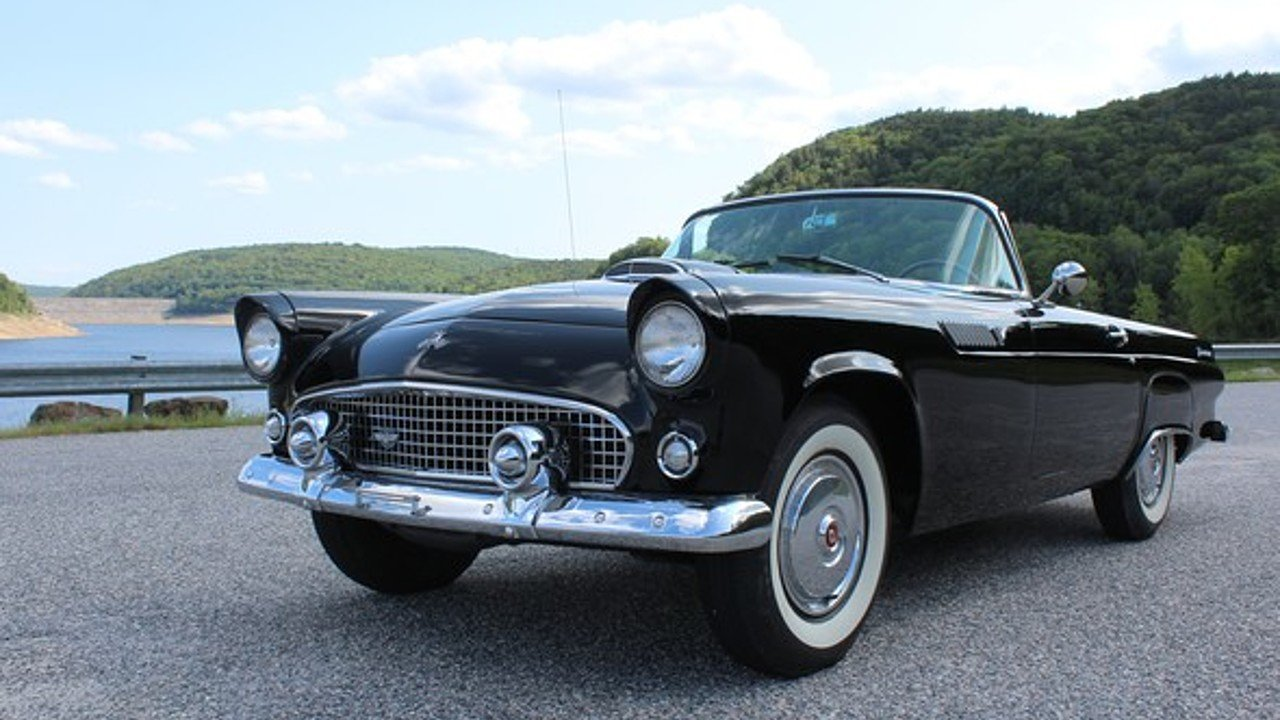 1955 ford thunderbird for sale near woodland hills california 91364 classics on autotrader. Black Bedroom Furniture Sets. Home Design Ideas