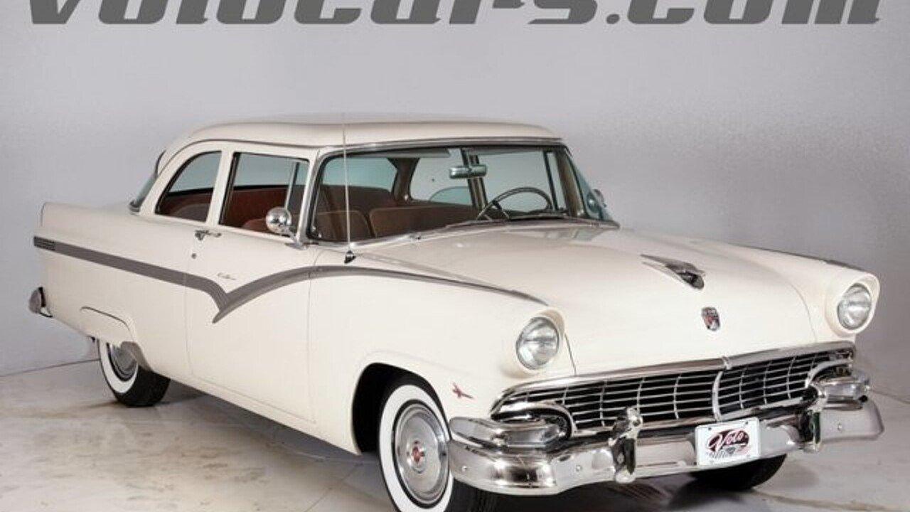 1956 Ford Fairlane For Sale Near Volo Illinois 60073 Classics On 1955 Car Seat Belts 100934474