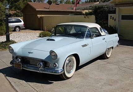 1956 Ford Thunderbird Classics For Sale Classics On Autotrader