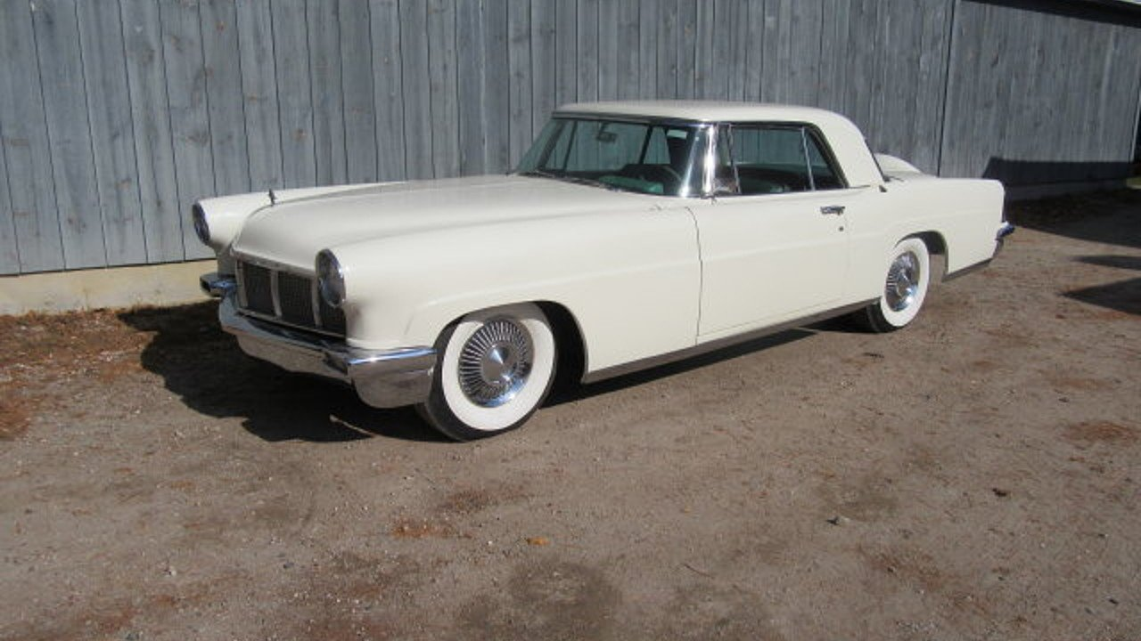 Police Car Auctions Near Me >> 1956 Lincoln Continental for sale near Freeport, Maine ...