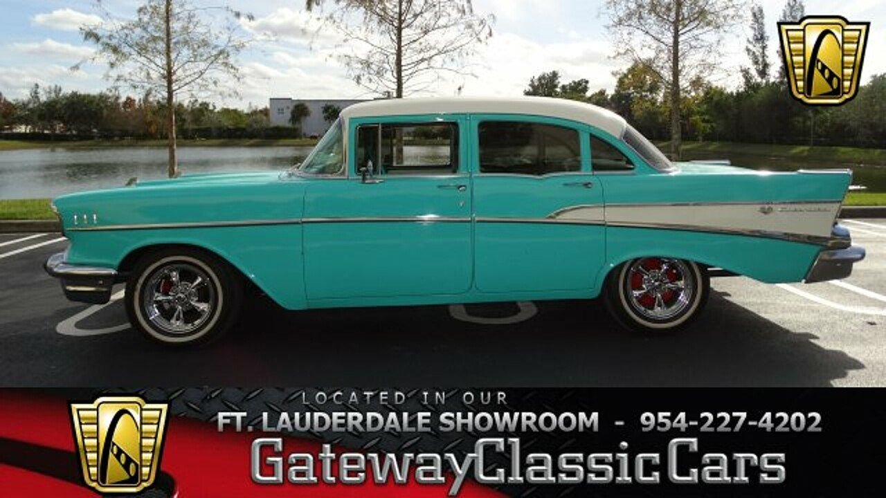 1957 Chevrolet Bel Air for sale near O Fallon, Illinois 62269 ...