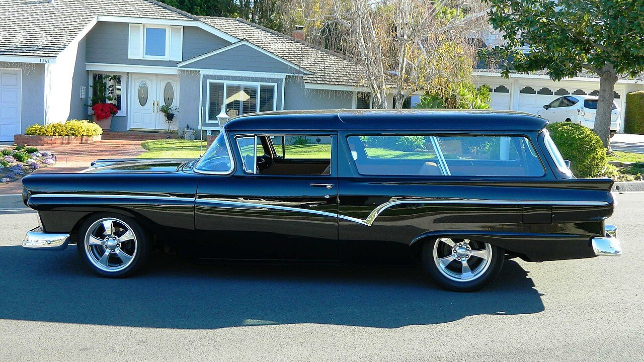 1957 ford station wagon series for sale near orange california 92867 classics on autotrader. Black Bedroom Furniture Sets. Home Design Ideas