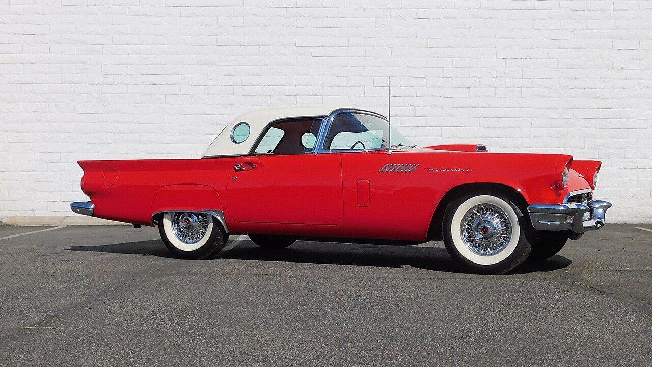1957 ford thunderbird for sale near carson california 90745 classics on autotrader. Black Bedroom Furniture Sets. Home Design Ideas
