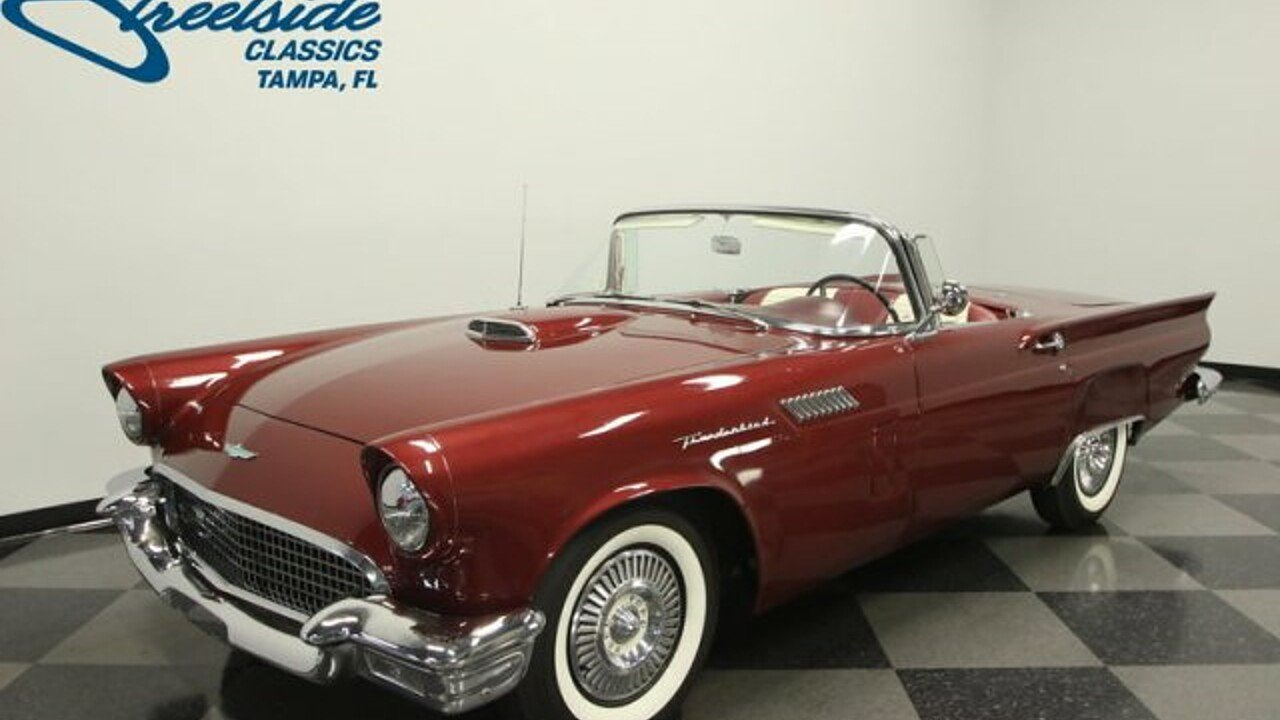 1957 Ford Thunderbird for sale near Lutz, Florida 33559 - Classics ...