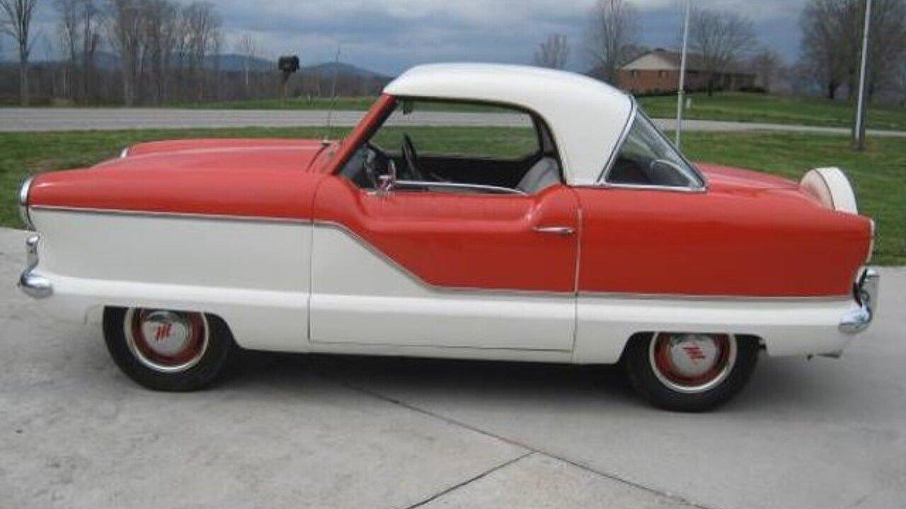 Nash Car: 1957 Nash Metropolitan For Sale Near Cadillac, Michigan