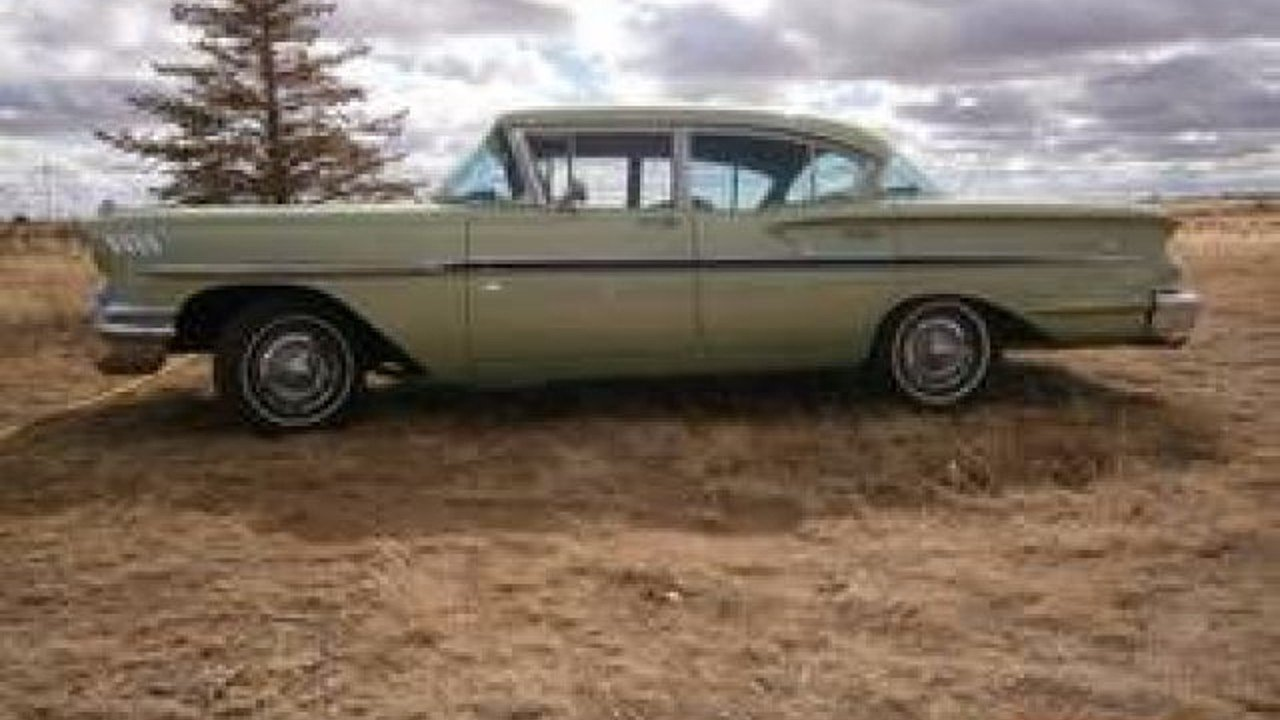 All Chevy 1958 chevy delray for sale : 1958 Chevrolet Bel Air for sale near Cadillac, Michigan 49601 ...