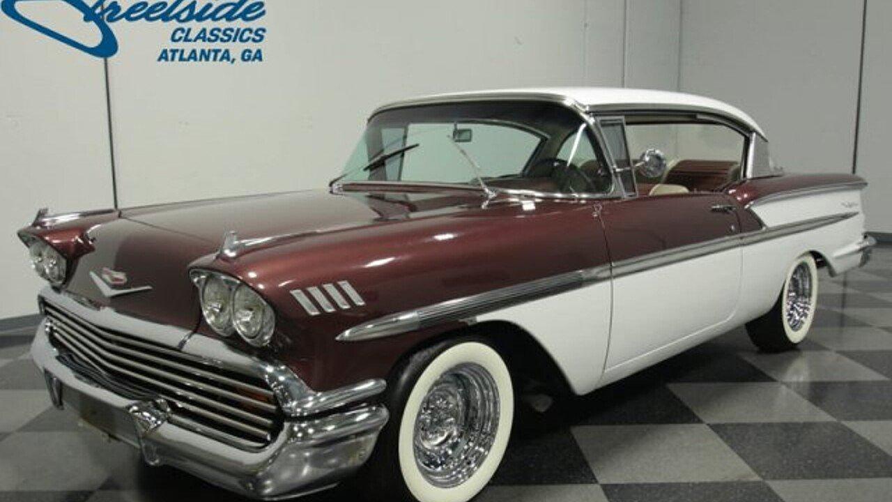 1958 Chevrolet Bel Air for sale near Lithia Springs, Georgia 30122 ...