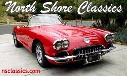 1958 Chevrolet Corvette for sale 100775829