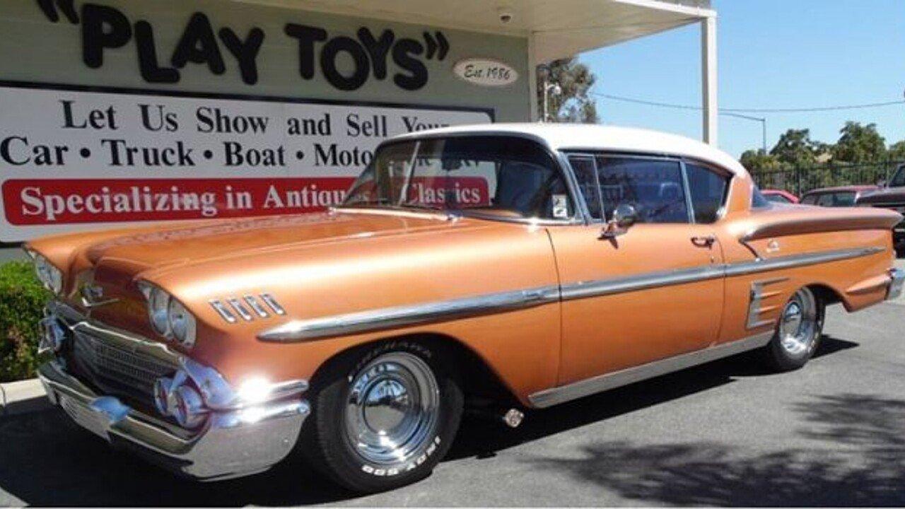 1958 Chevrolet Impala for sale near Redlands, California 92373 ...