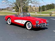 1958 chevrolet Corvette for sale 100976594