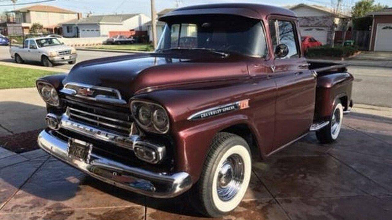 1959 chevrolet apache for sale near las vegas nevada 89119 classics on autotrader. Black Bedroom Furniture Sets. Home Design Ideas
