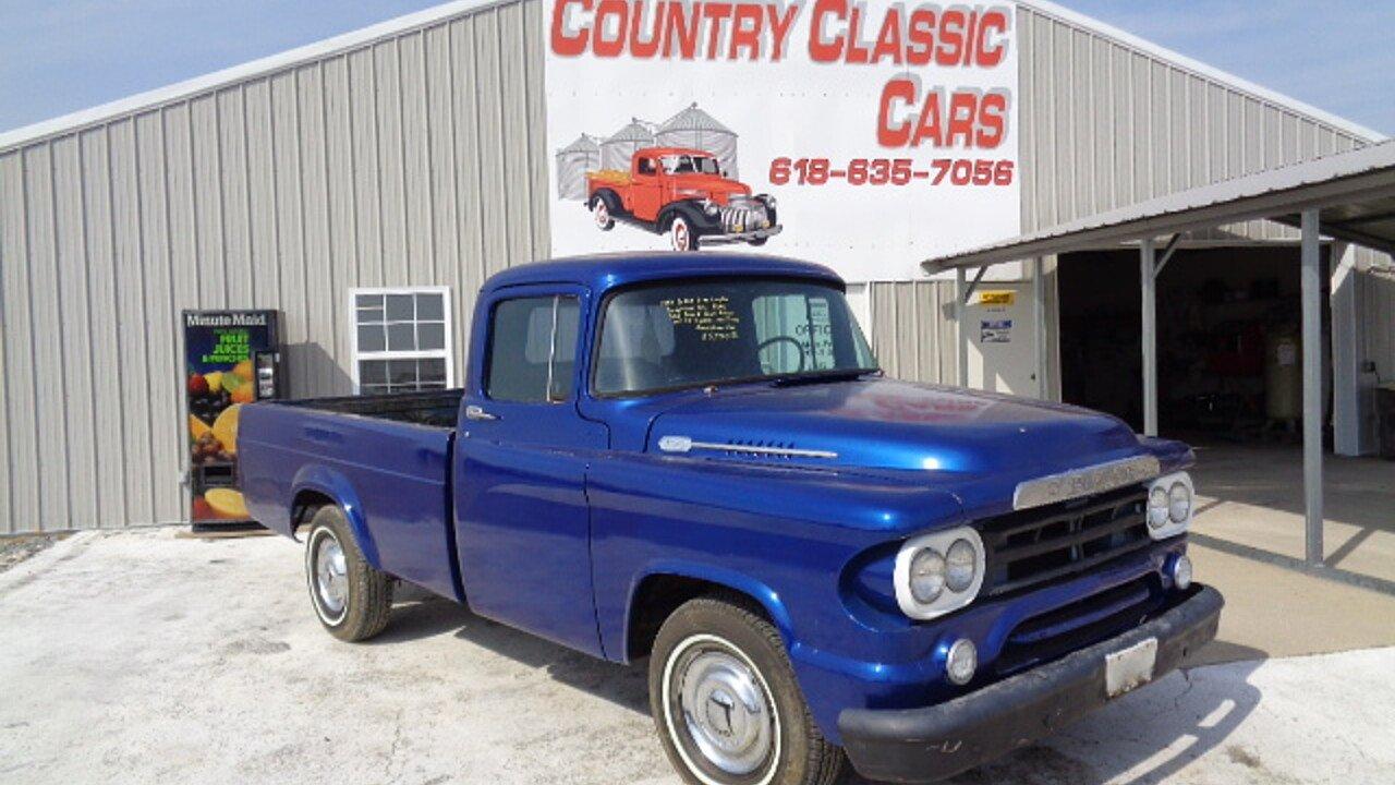 1959 Dodge D/W Truck for sale near Staunton, Illinois 62088 ...