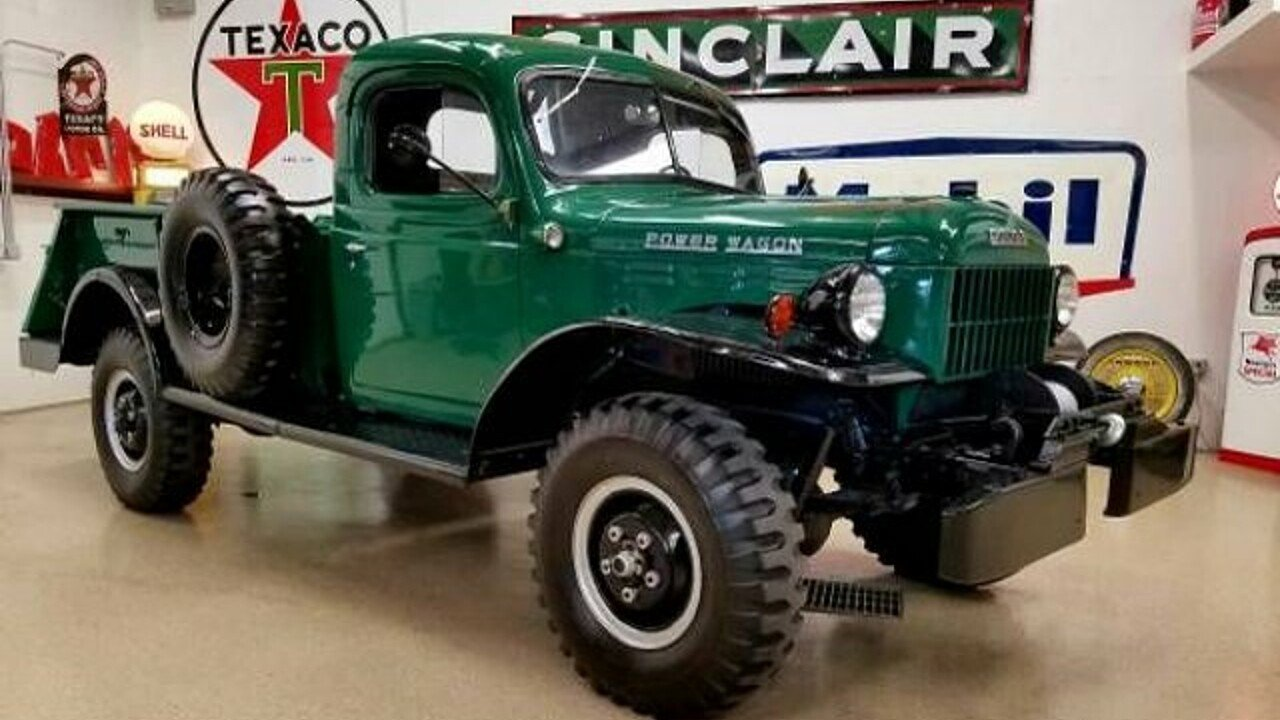 1959 dodge power wagon for sale near cadillac michigan for Motorized wagon for sale