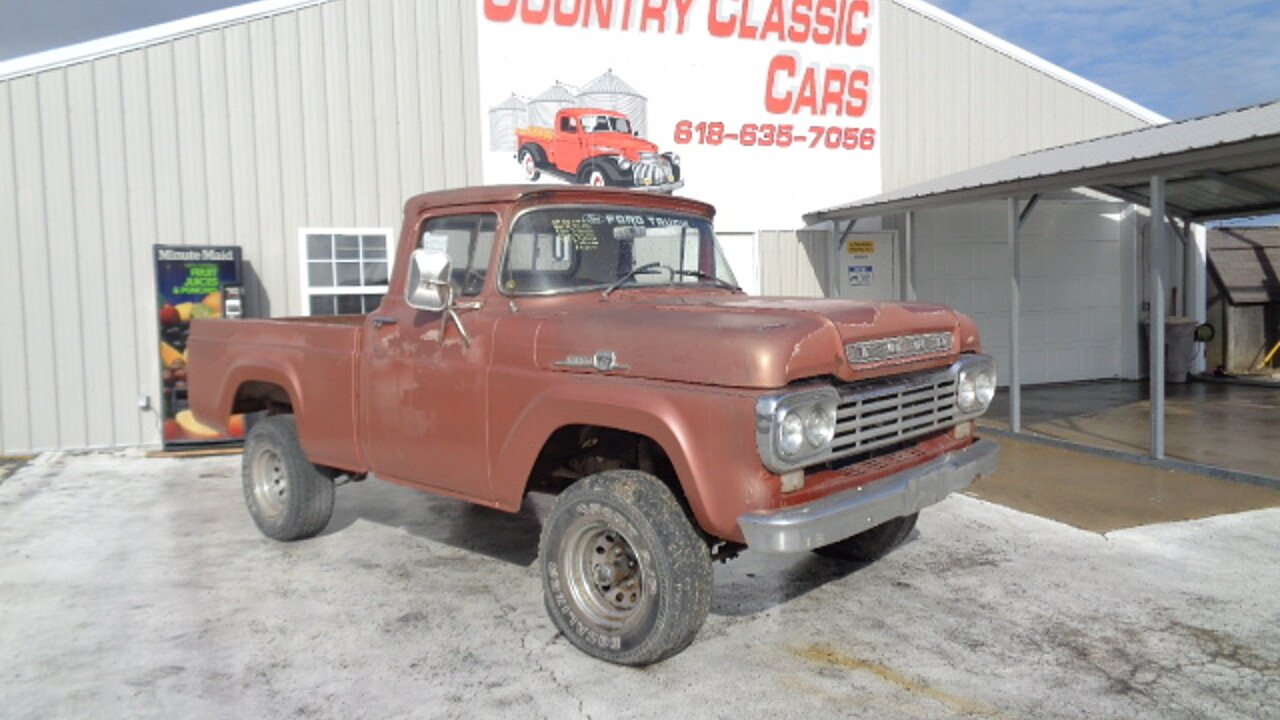 Image Result For 1967 Ford Short Bed Truck Bagged T 1955 F100 Tubbed 1959 Sale 100940671