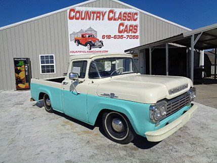 1959 Ford F100 for sale 100961008