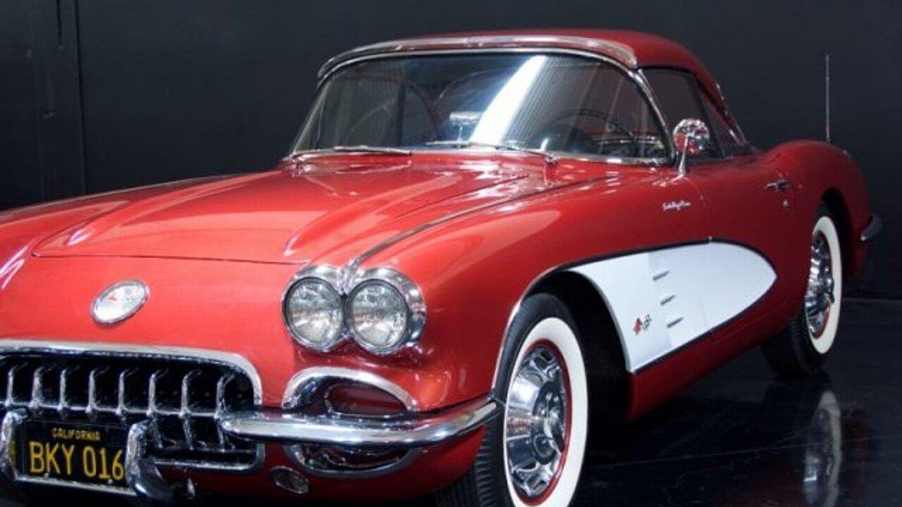 1960 chevrolet corvette for sale 100900361
