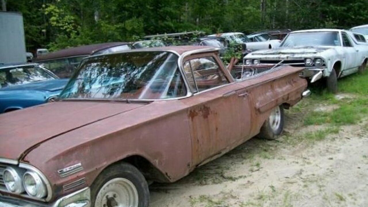 1960 Chevrolet El Camino for sale near Cadillac, Michigan 49601 ...