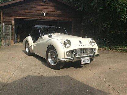 1960 Triumph TR3A for sale 100799437