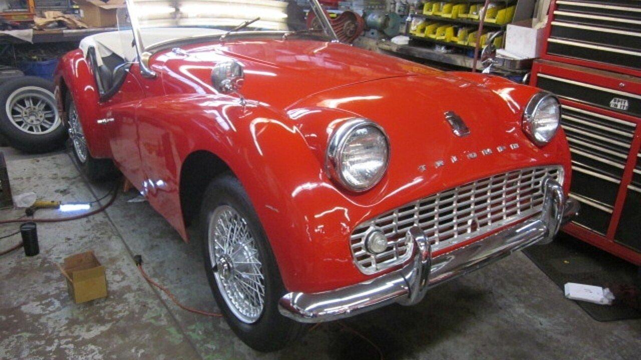 1960 Triumph TR3A for sale near Stratford, Connecticut 06615 ...