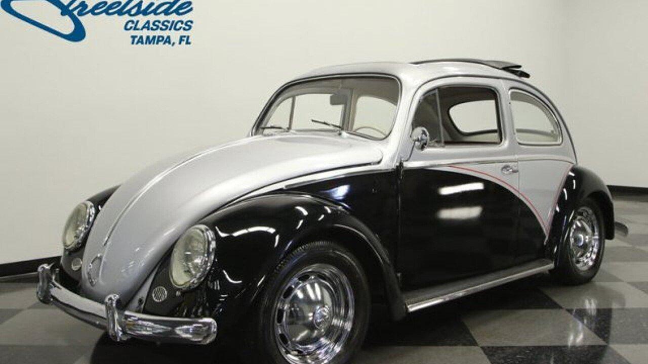1960 Volkswagen Beetle for sale near Lutz, Florida 33559 ...