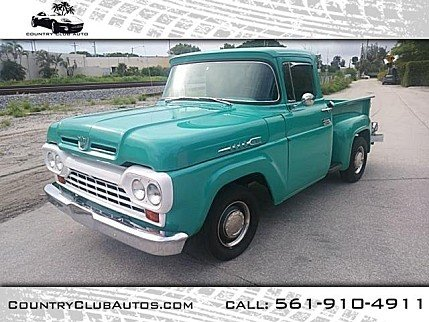 1960 ford F100 for sale 100981728