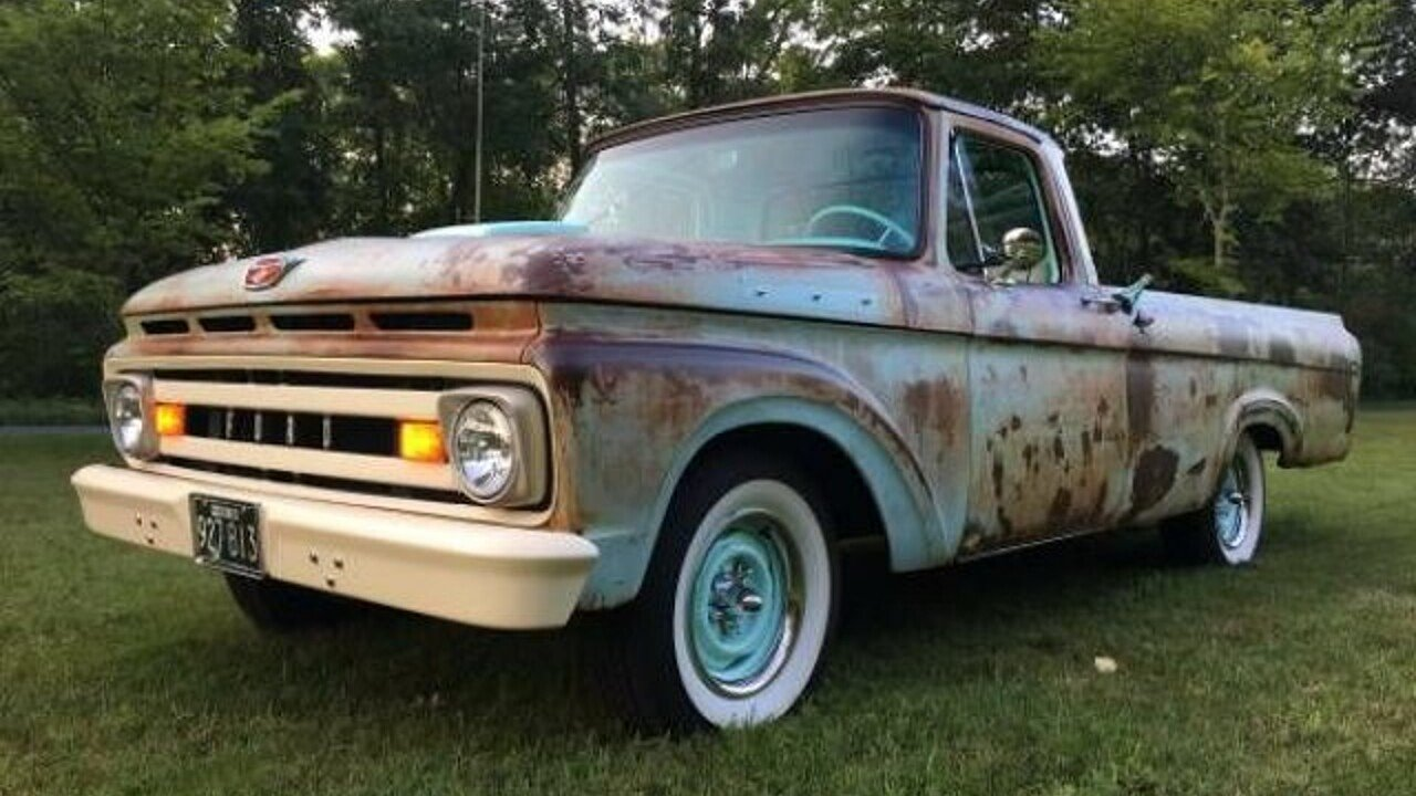 1961 Ford F100 for sale near Cadillac, Michigan 49601 - Classics on ...
