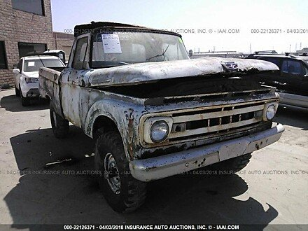 1961 Ford F100 for sale 101016131