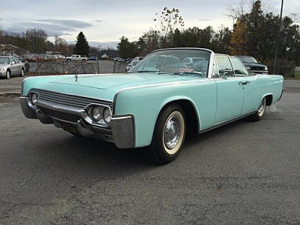 1961 Lincoln Continental Classics For Sale Classics On Autotrader