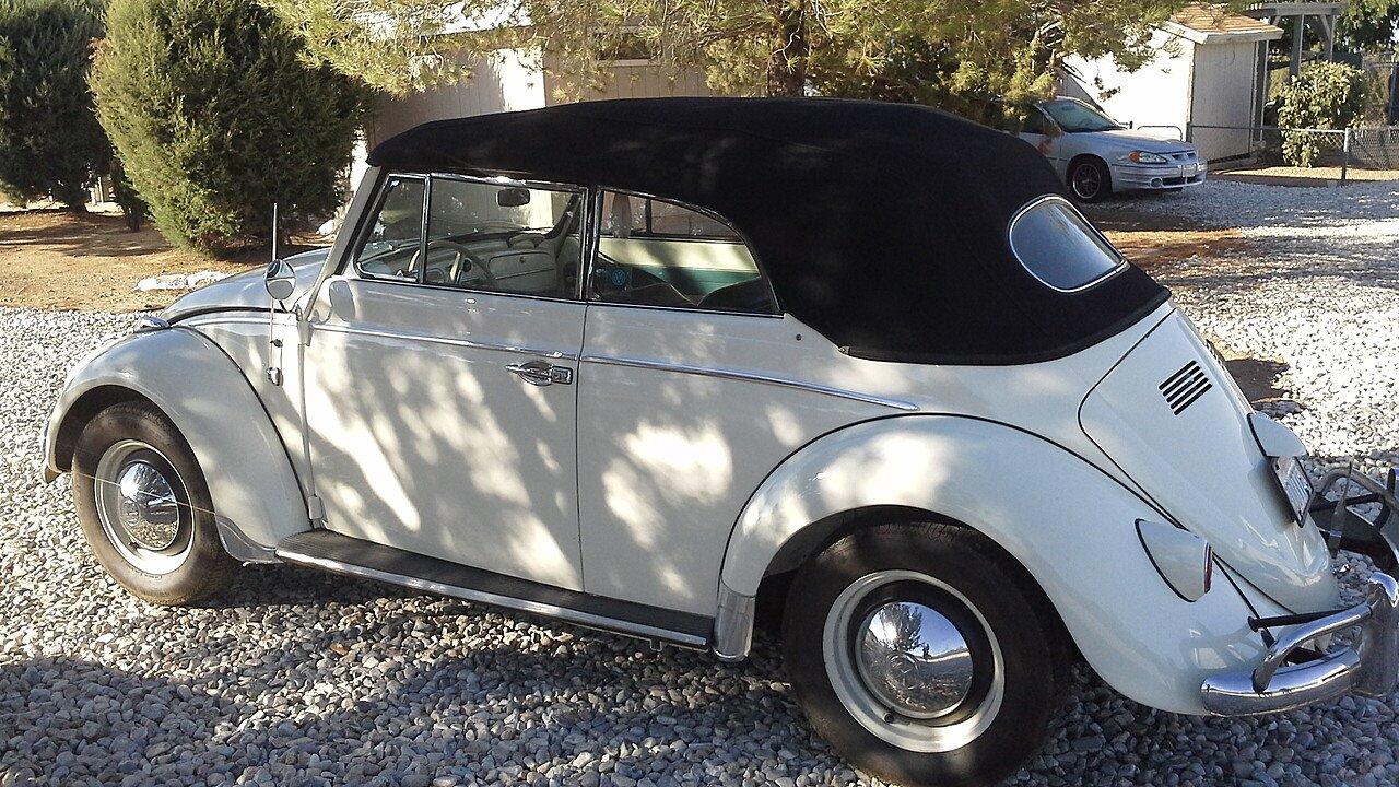 1961 Volkswagen Beetle for sale near Oak Hills, California 923446 ...