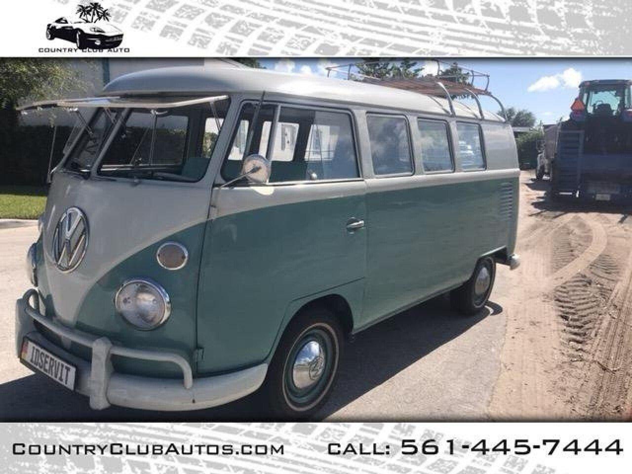 1961 Volkswagen Vans For Sale Near Delray Beach Florida
