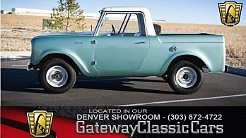 1962 International Harvester Scout for sale 100950748