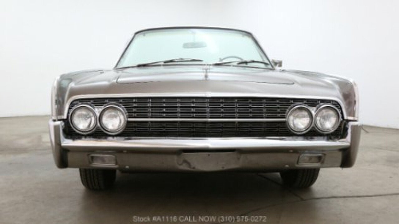 1962 Lincoln Continental for sale near Los Angeles, California 90063 ...