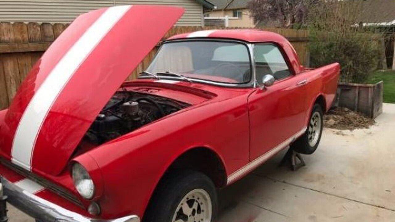 1962 Sunbeam Alpine for sale near Cadillac, Michigan 49601 ...