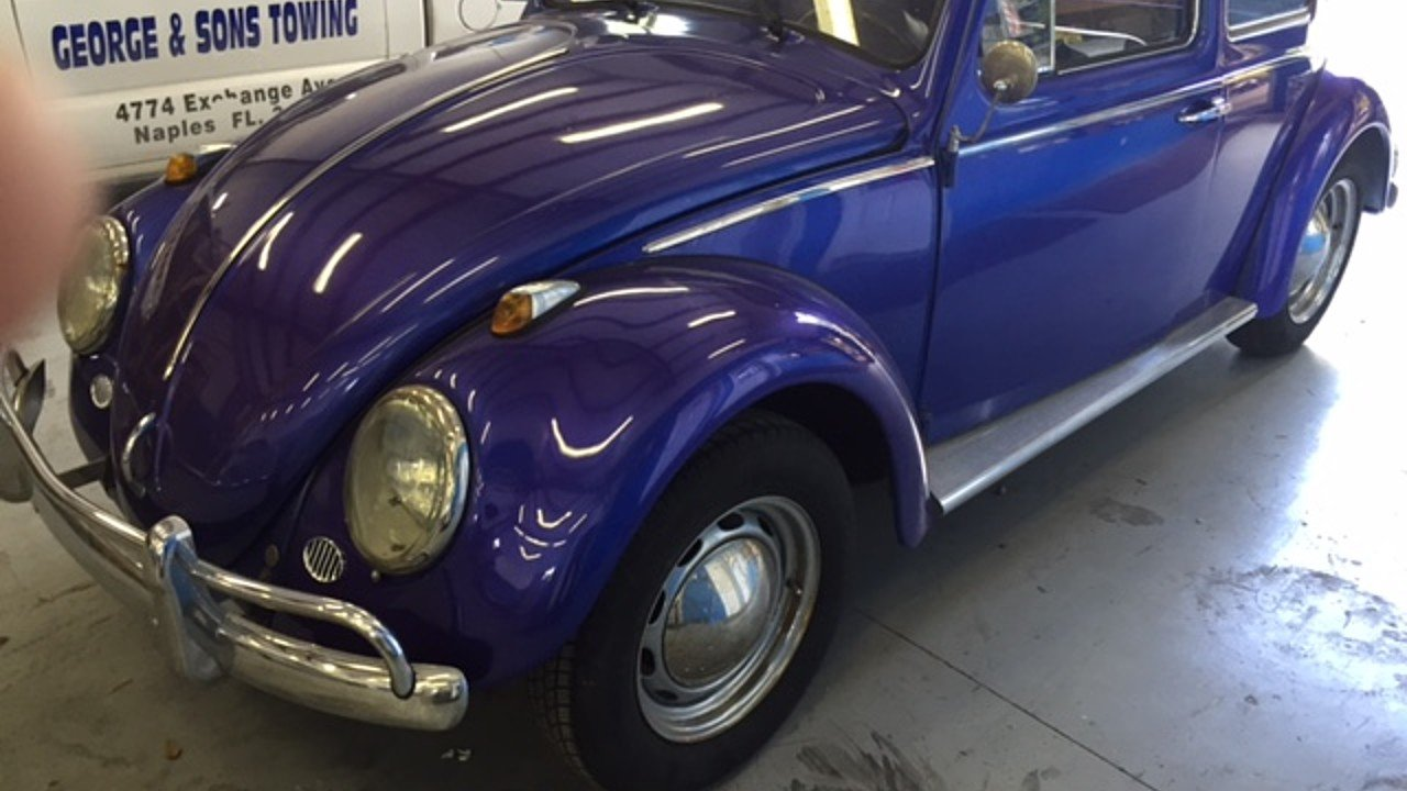 1962 Volkswagen Beetle for sale near naples, Florida 34120 ...