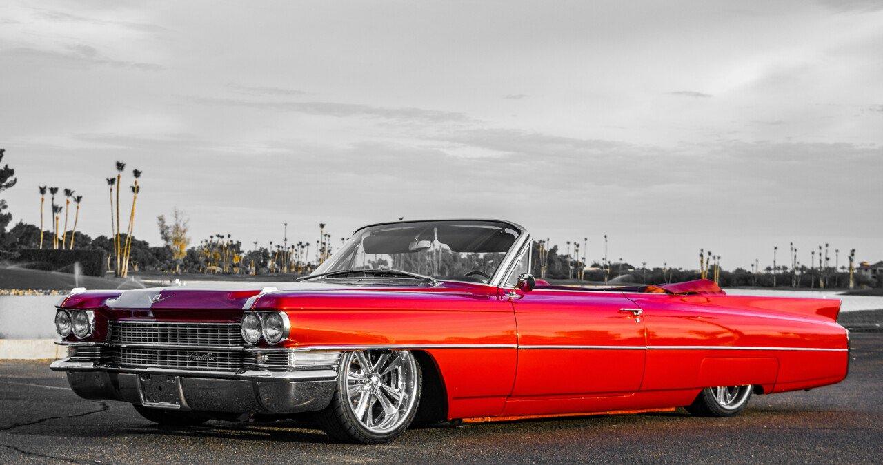 1963 Cadillac De Ville Coupe For Sale Near Scottsdale