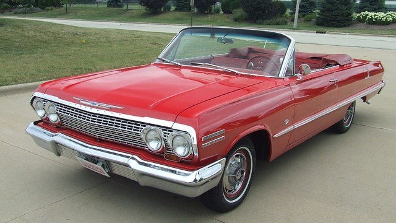 1963 Chevrolet Impala for sale 100805920
