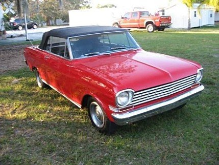 1963 Chevrolet Nova for sale 100826816