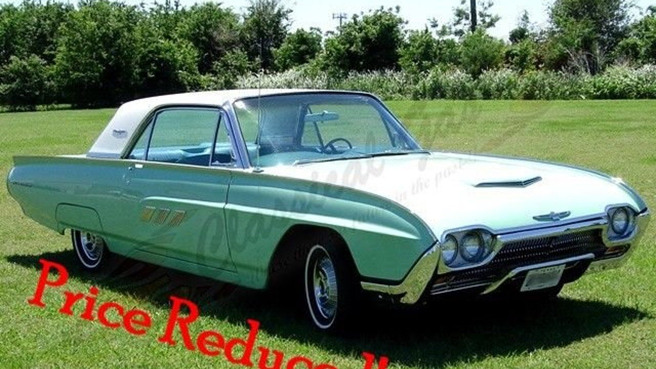 1963 Ford Thunderbird for sale 100972624