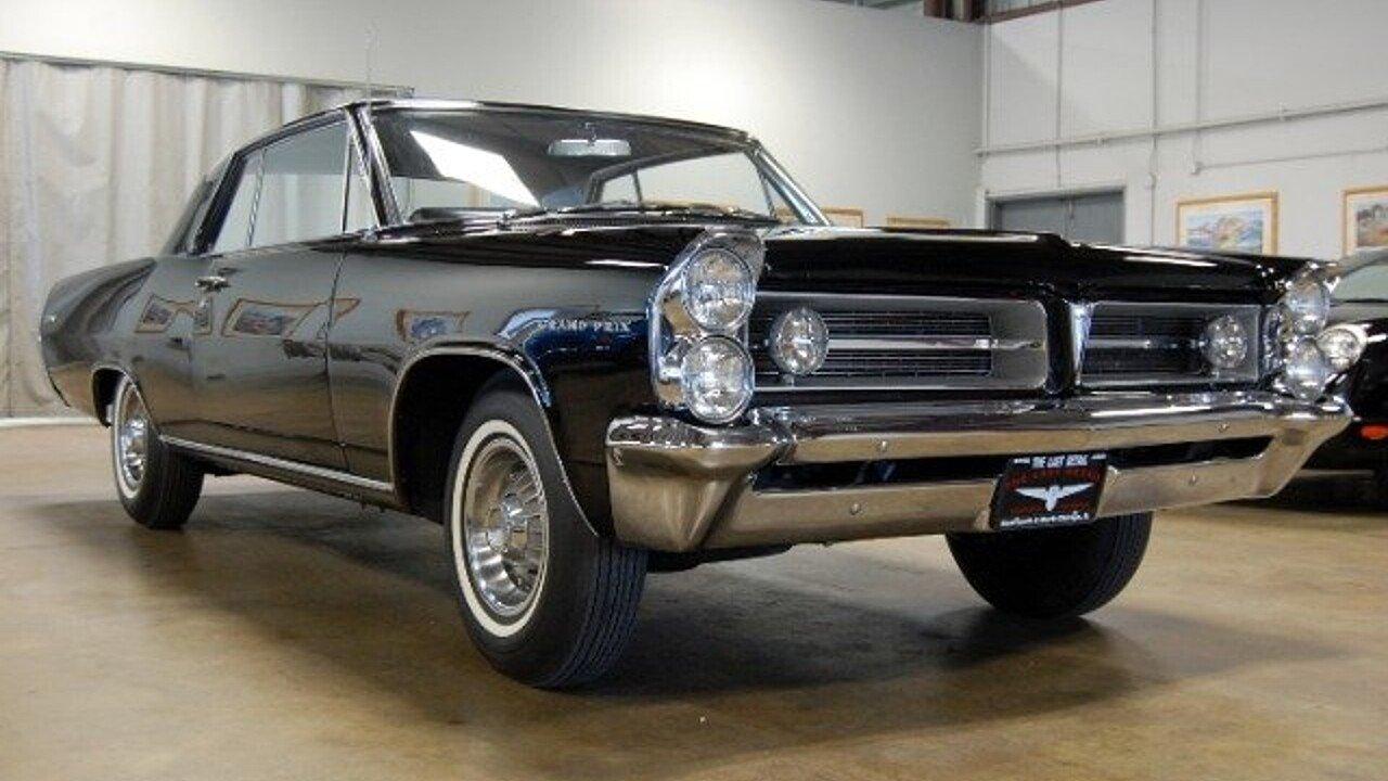 1963 Pontiac Grand Prix For Sale Near North Chicago Illinois 60064 1965 Gto Tripower 4speed Starlight Black With 101032995