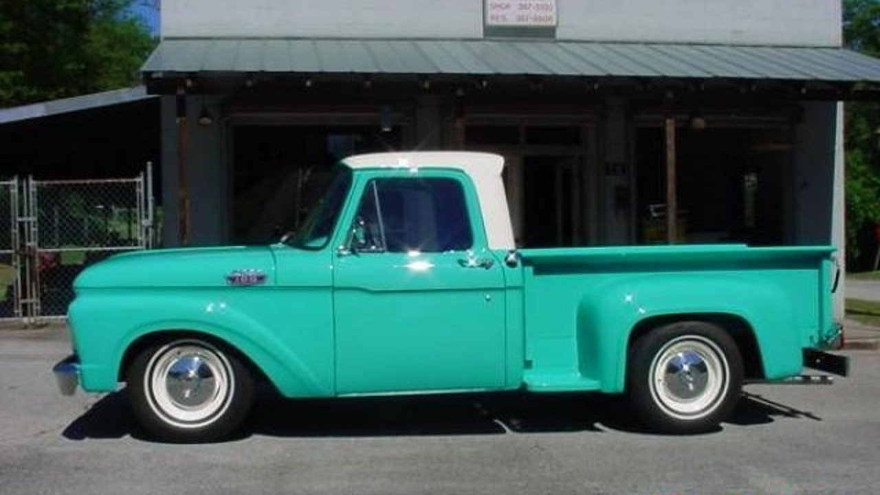 1964 ford f100 for sale near cadillac michigan 49601 classics on autotrader. Black Bedroom Furniture Sets. Home Design Ideas