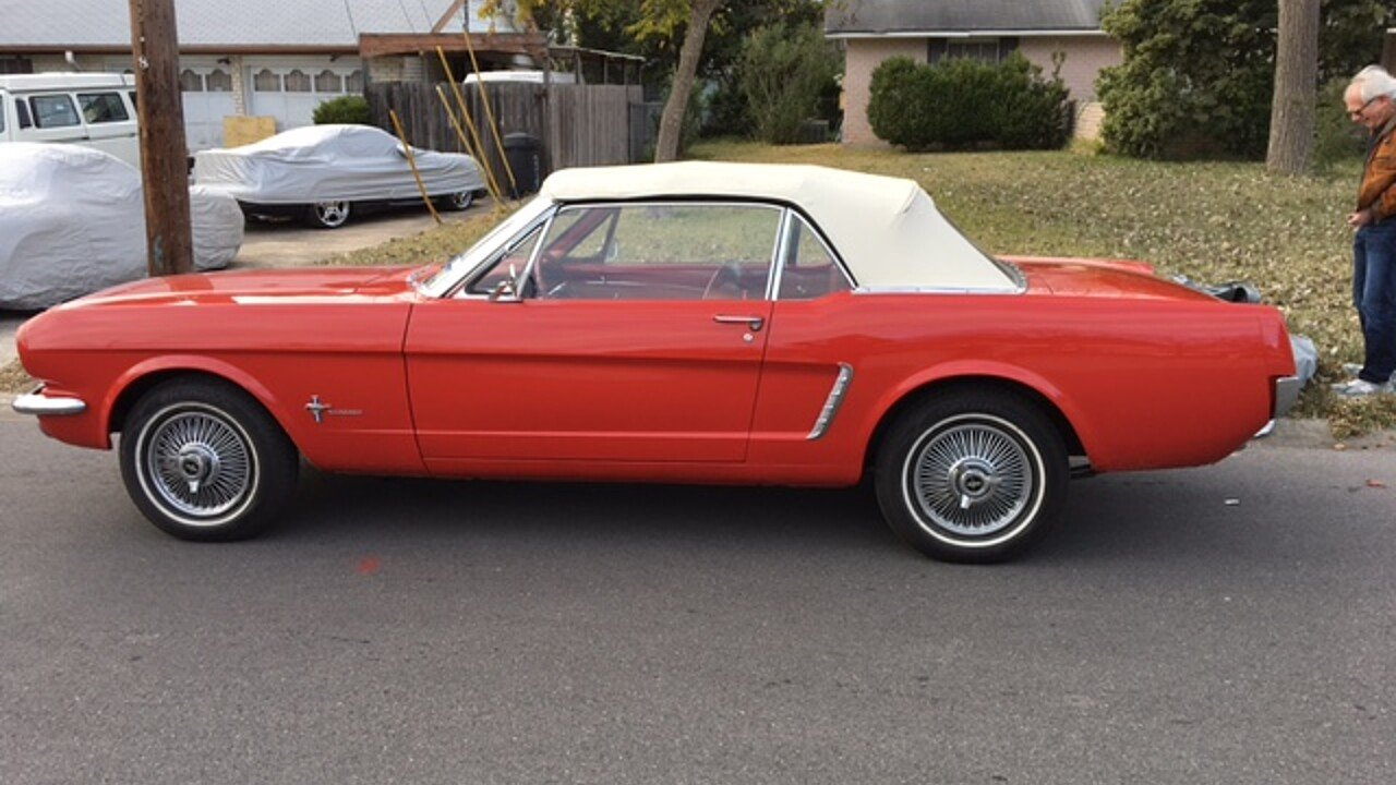 1964 ford mustang convertible for sale near san antonio texas 78213 classics on autotrader. Black Bedroom Furniture Sets. Home Design Ideas