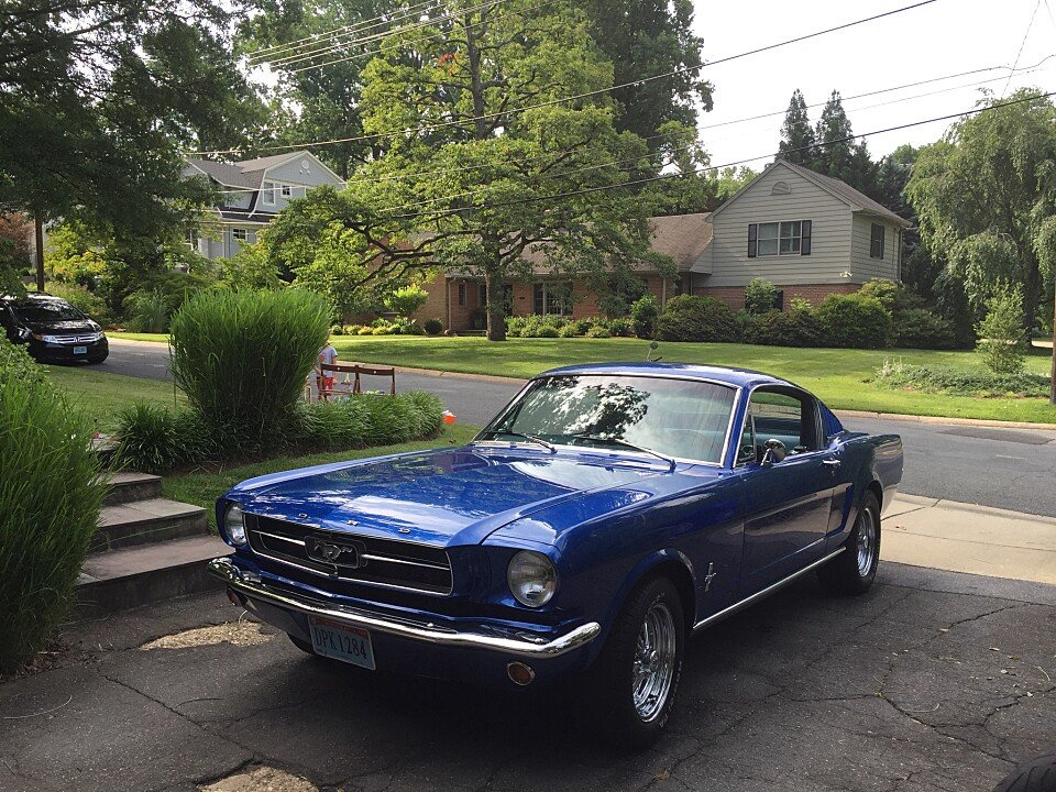 1965 ford mustang hatchback for sale near chevy chase maryland 20815 autotrader classics. Black Bedroom Furniture Sets. Home Design Ideas