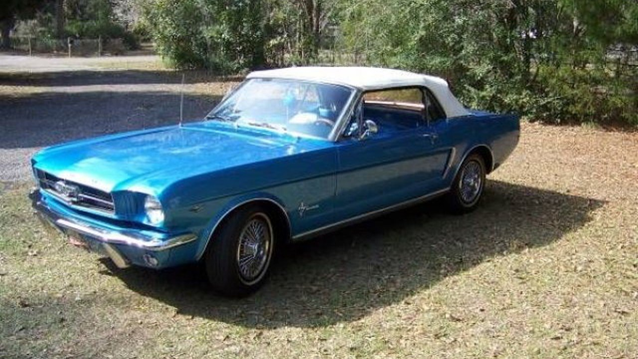 1965 Ford Mustang Convertible for sale 100894681