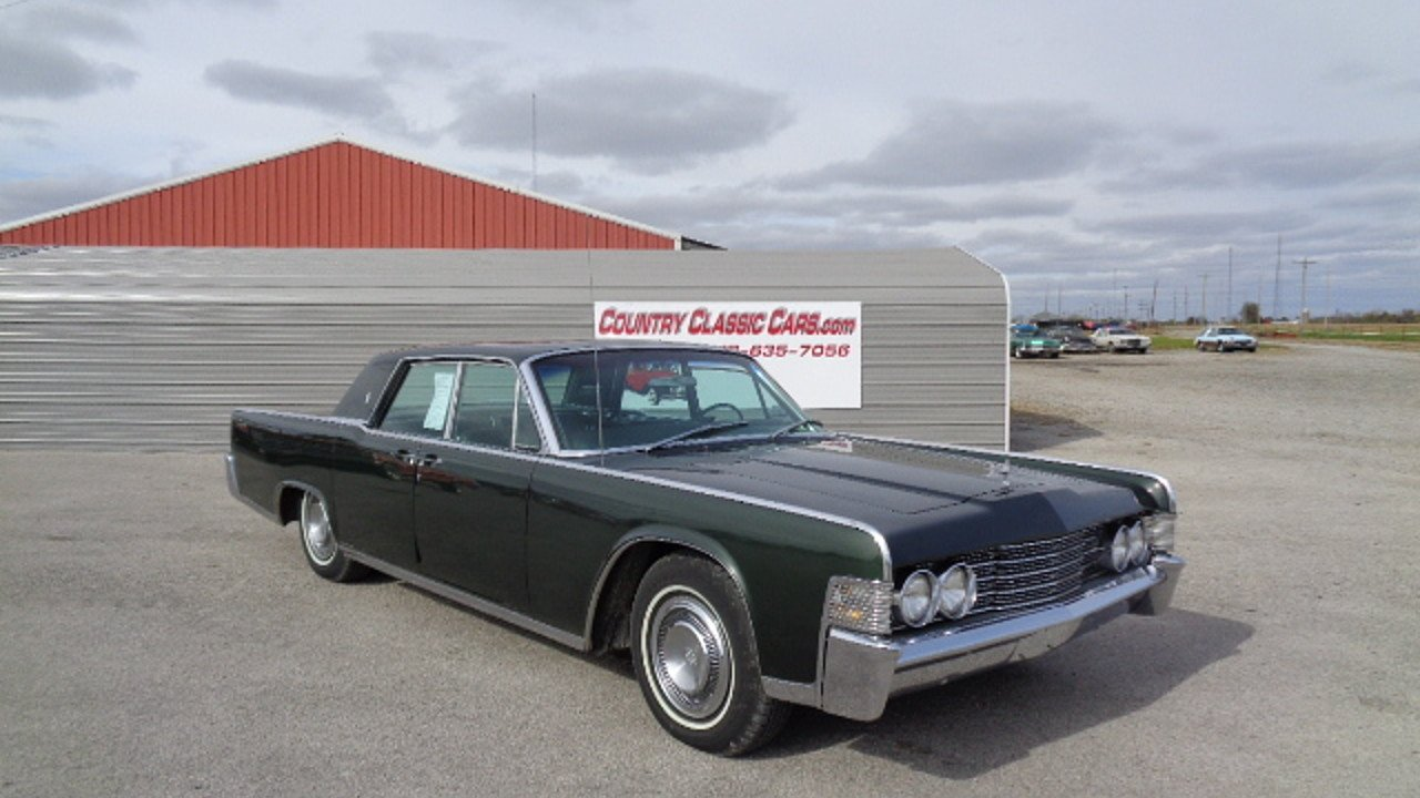 1965 lincoln continental for sale near staunton illinois 62088 classics on autotrader. Black Bedroom Furniture Sets. Home Design Ideas