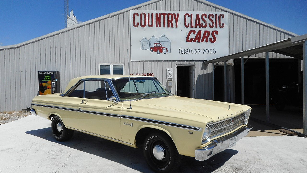 1965 Plymouth Belvedere for sale near Staunton, Illinois 62088 ...